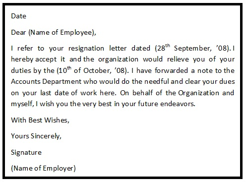 resignation letter format hunt hankk co