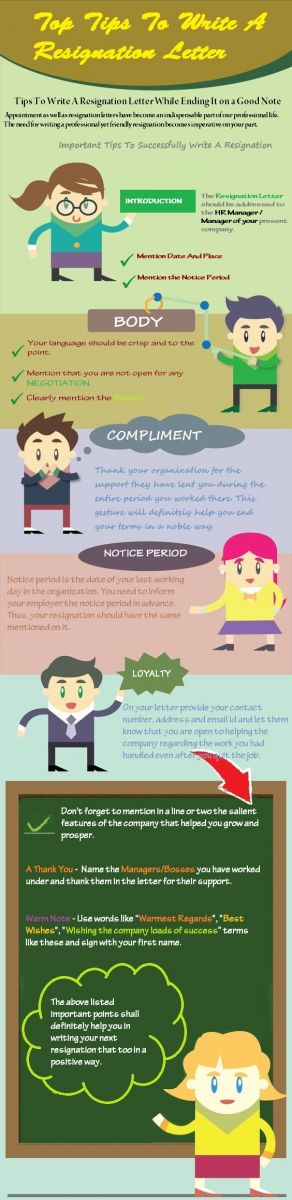 Simple Professional Resignation Letter & Effective Resignation Letter